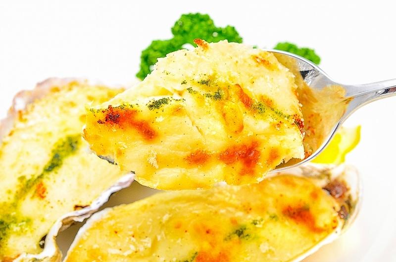 牡蠣グラタンアップ1