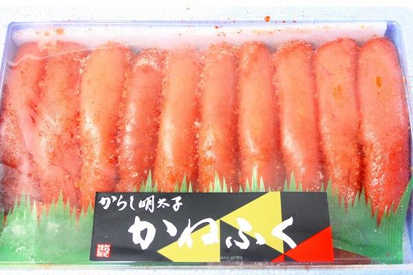 辛子明太子パッケージ冷凍