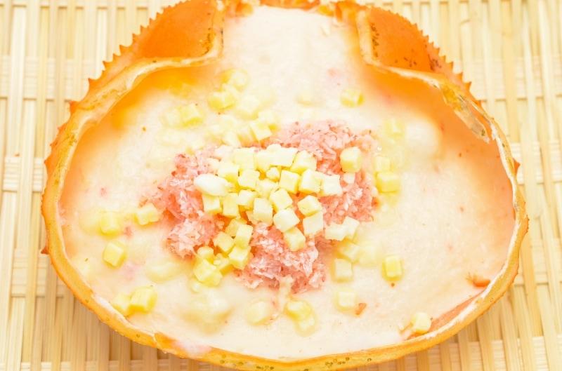かに甲羅グラタン 冷凍1
