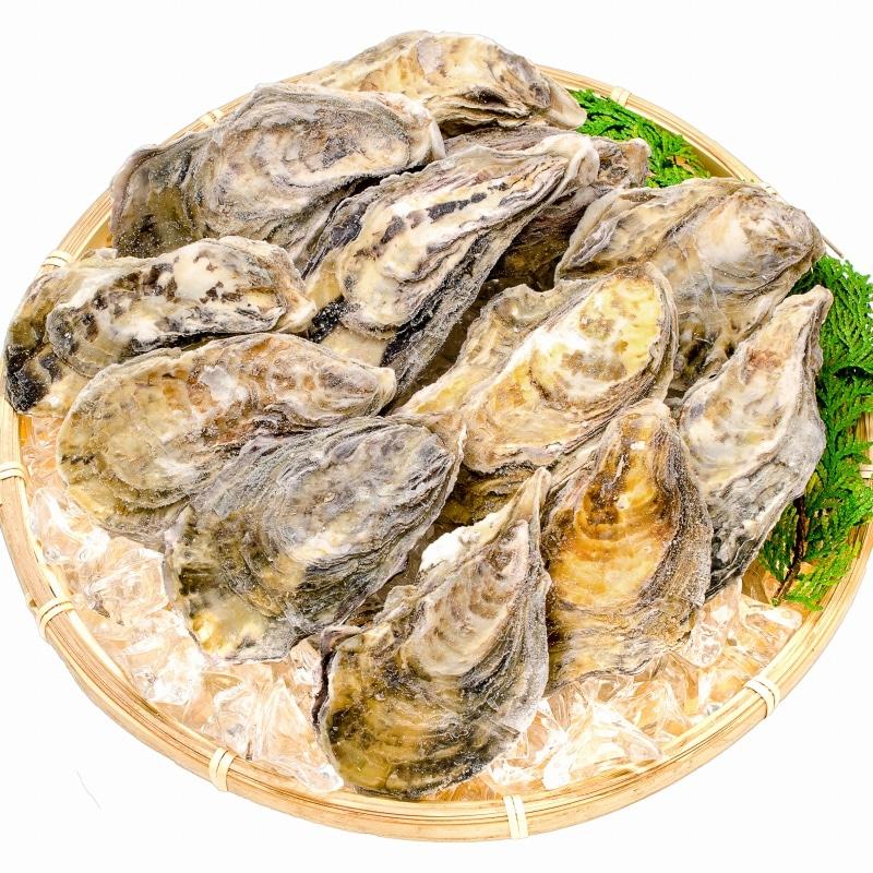 殻付き牡蠣 ザル盛り