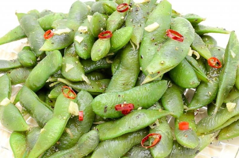 台湾風スパイシー枝豆