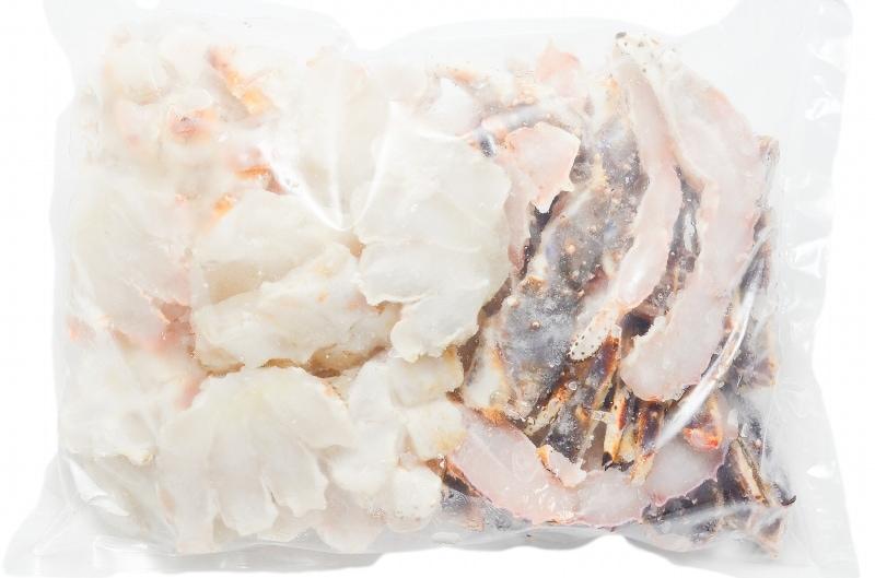 生タラバガニ パッケージ 冷凍