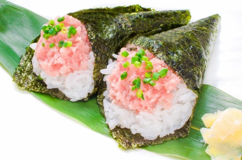 王様のネギトロ 手巻き寿司