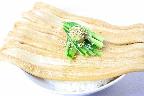 煮穴子丼4