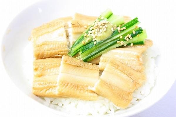 煮穴子丼2