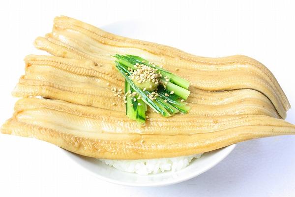 煮穴子丼1