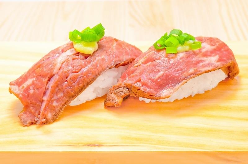 ローストビーフ握り寿司