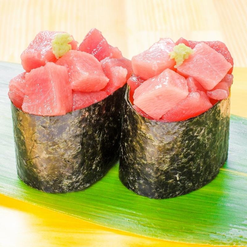 まぐろトロブツ 軍艦寿司