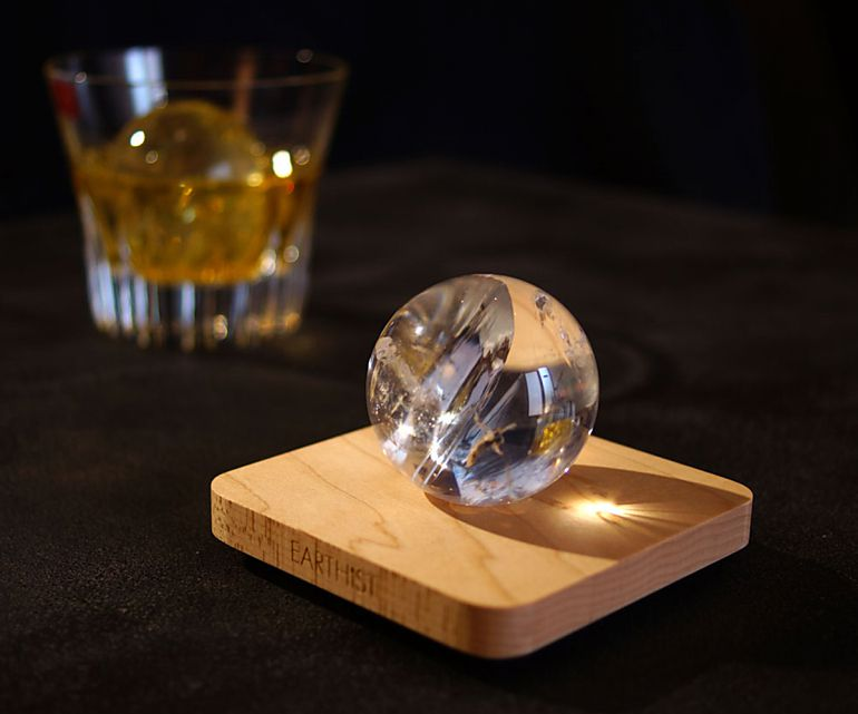 レインボークリスタル スフィア - Wood Type1-