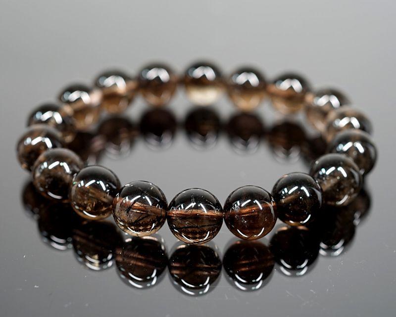 ブラックルチルクォーツ(黒針水晶)|最高級パワーストーンのフォレストブルー【全商品1か月返品OK・送料無料】