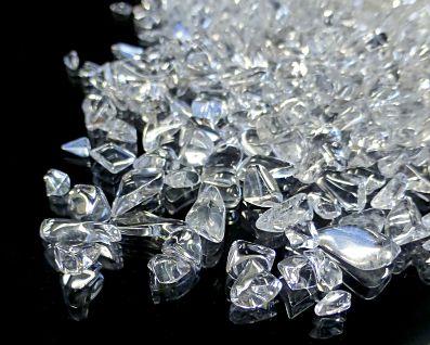 天然本水晶 さざれチップ (Sサイズ) 約2〜8mm玉