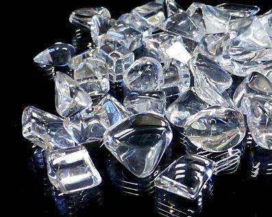 天然本水晶 さざれチップ (XLサイズ) 約10〜18mm玉