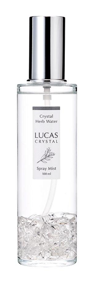 LUCAS ルカス 浄化スプレー [クリスタル] 100ml ボトル(セージの香り)【浄化・お守り】|最高級パワーストーンのフォレストブルー【全商品1か月返品OK・送料無料】