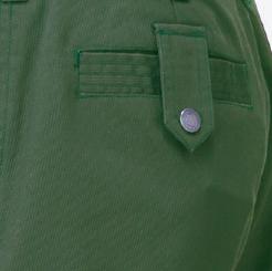 寅壱 スリムカーゴ 3940-219の左後ミニフラップポケットの写真