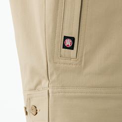 両脇逆玉縁ポケット