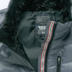 寅壱 防寒ブルゾン 2581-129 のライン入りテープの写真