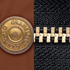 グランシスコ カーゴパンツ GC-5011の個性的なゴールドカラー写真