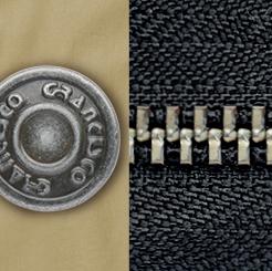グランシスコ カーゴパンツ GC-5011のシックなプラチナカラー写真