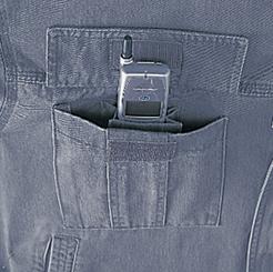 マジックテープ仕様 携帯電話収納ポケット