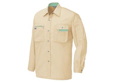 長袖シャツ(薄手)(製品制電JIS T8118適合品) /AZ-5325の写真