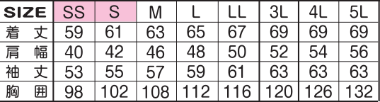 1530-4のサイズ表