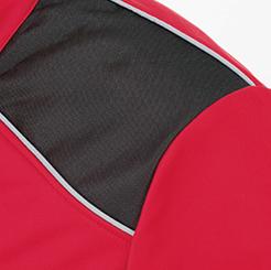 防寒・防風ストレッチブルゾン G-2240 のアーマーパッドの写真