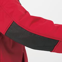 防寒・防風ストレッチブルゾン G-2240  の肘パッド付きの写真