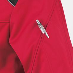 防寒・防風ストレッチブルゾン G-2240  の袖マルチポケットの写真