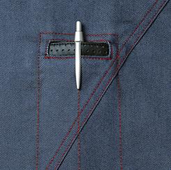 自重堂JAWINジャンパー 52400の左胸ペン差し写真