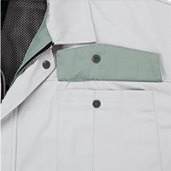 裏ポケットのフラップ裏面の配色/20:グレー