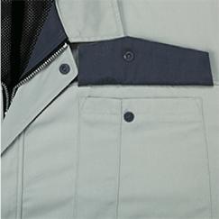 裏ポケットのフラップ裏面の配色/61:モスグリーン