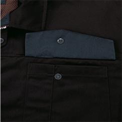 裏ポケットのフラップ裏面の配色/90:クロ