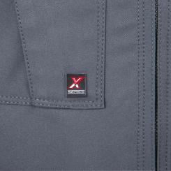 ハイグレードの「Xシリーズ」専用の立体ブランドネームタグ。