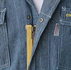 長袖ツナギ GE-1054 のアップ写真