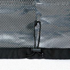 裾口ストッパー付きドローコード
