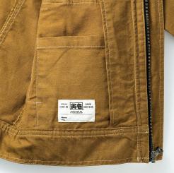 寅壱 蛇腹ライダースジャケット 3930-554  の内ポケットの写真