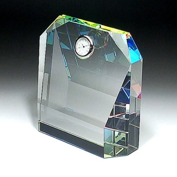 時計クリスタルトロフィ