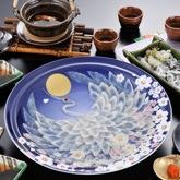 慶祝鶴 (4人前)|ふぐ料理宅配専門店「ふく太郎」