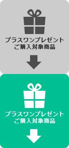 プラスワンプレゼント対象商品