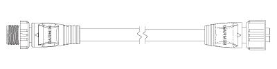 NIMEA2000 バックボーン/ドロップケーブル 詳細図