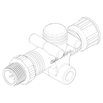 NIMEA2000 インラインターミネーター 詳細図