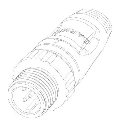 NIMEA2000ターミネーター 詳細図