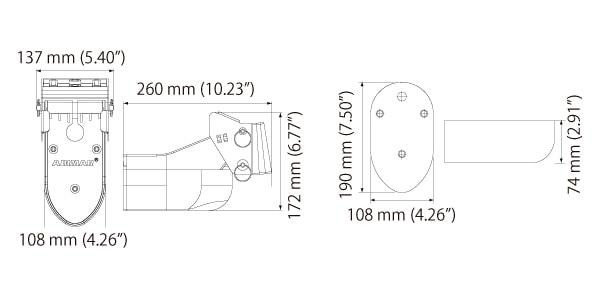 TM265LH 寸法図面