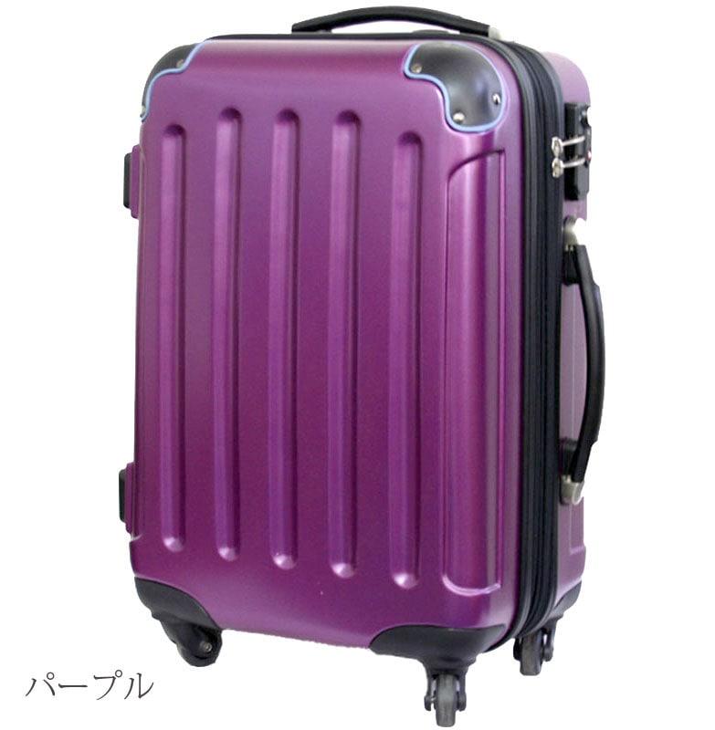 四輪スーツケースMサイズ1
