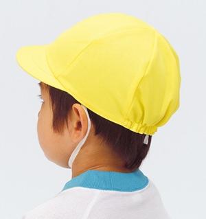 ニットカラー帽子きいろ