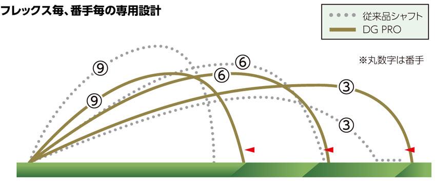 DG PRO 弾道説明図