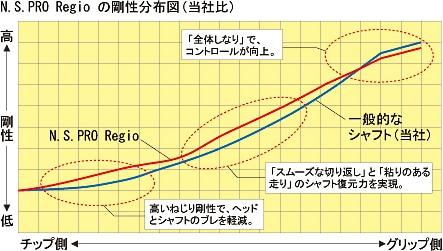 N.S.PRO Regioの剛性分布図