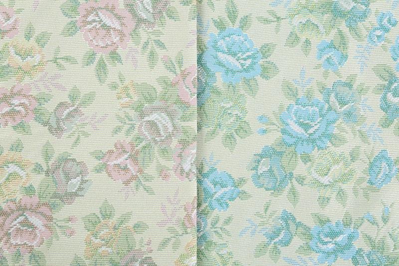 ポリエステル花柄ジャガードpin EEA00187