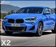 BMW X2 フロアマット