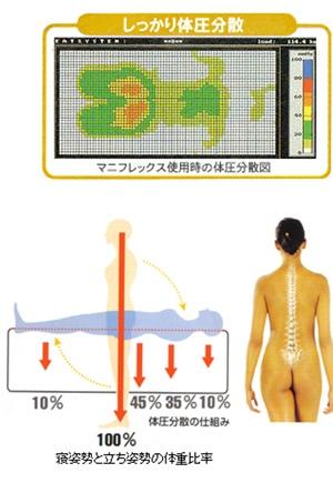 マニフレックス メッシュウィング シングルサイズは腰痛対策